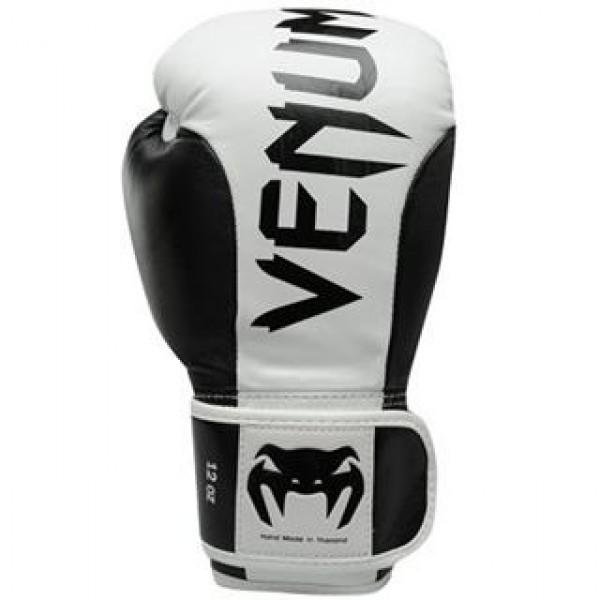 Перчатки боксерские Venum Absolute Black/White