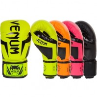 Перчатки боксерские Venum Elite Neo Black