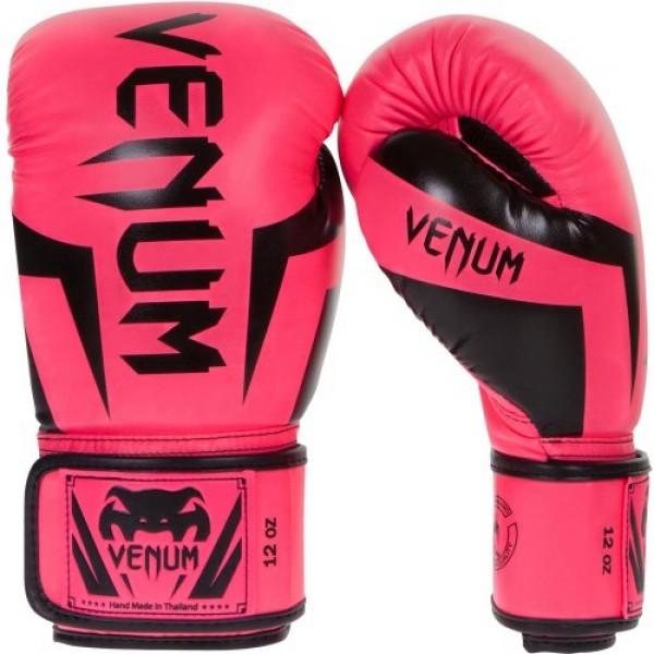 Перчатки боксерские Venum Elite Neo Pink