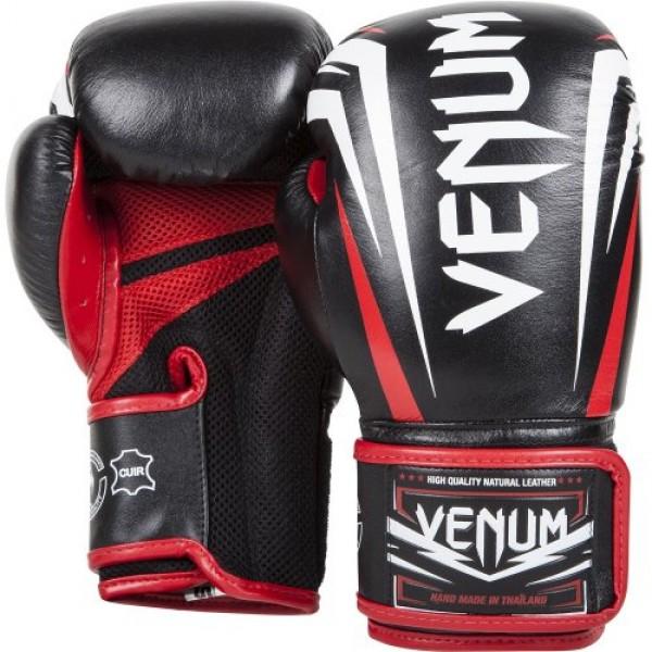 Перчатки боксерские Venum Sharp Nappa Leather Black