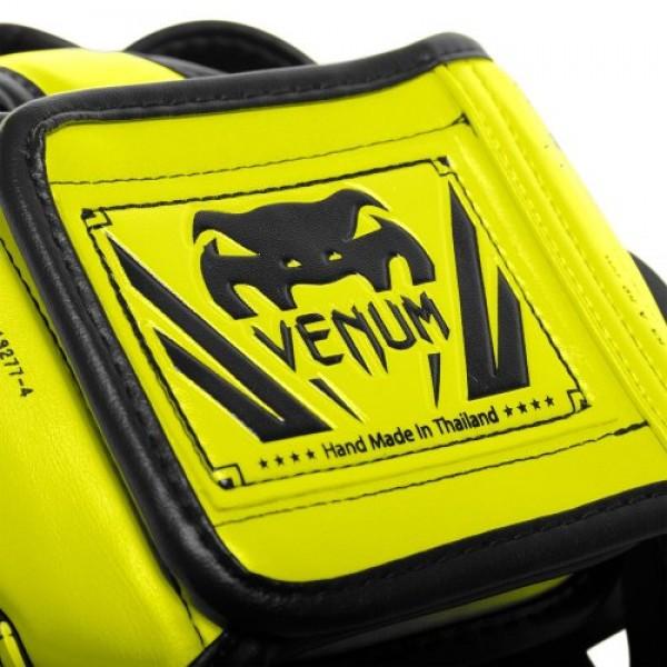 Шлем боксерский Venum Elite Neo Yellow