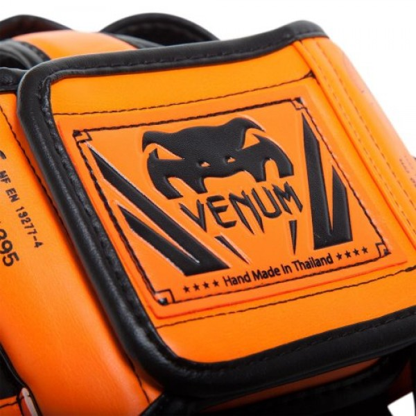 Шлем боксерский Venum Elite Neo Orange
