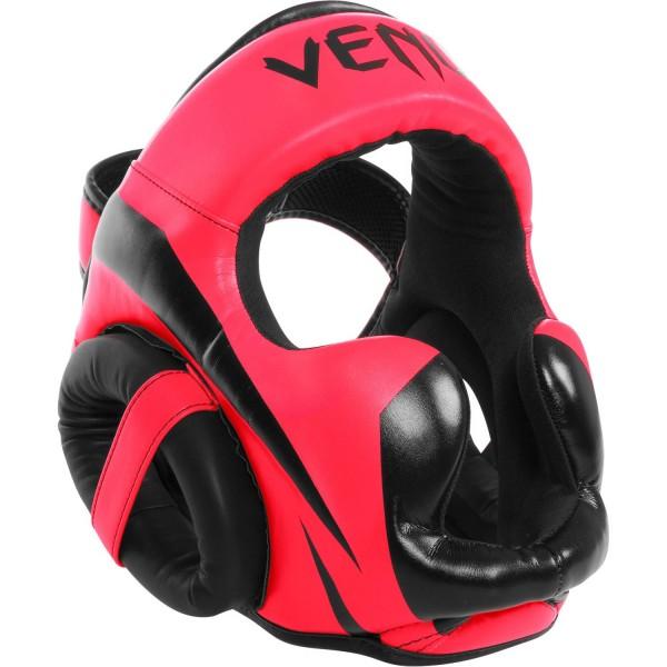 Шлем боксерский Venum Elite Neo Pink