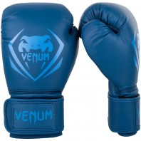 Перчатки боксерские Venum Contender Navy/Navy