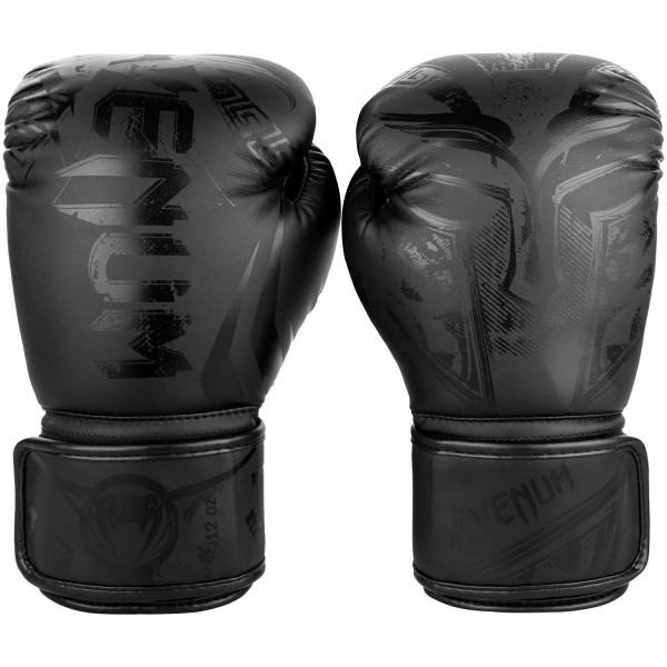 Перчатки боксерские Venum Gladiator Black/Black