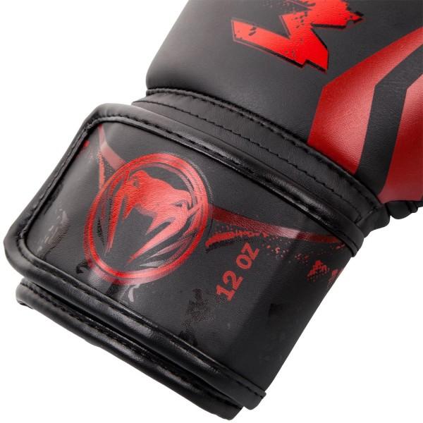 Перчатки боксерские Venum Gladiator Black/Red