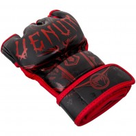 Перчатки ММА Venum Gladiator Black/Red