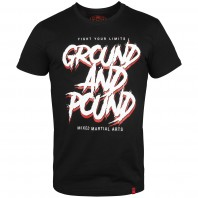 Футболка Venum Ground and pound Black