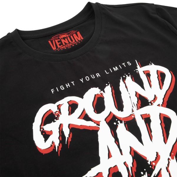 Футболка Venum Ground and pound Black