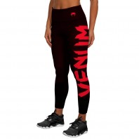 Леггинсы Venum Giant Black/red