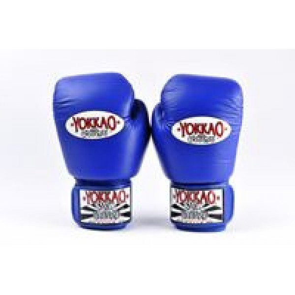 Перчатки боксерские Yokkao BYGL-1 Blue