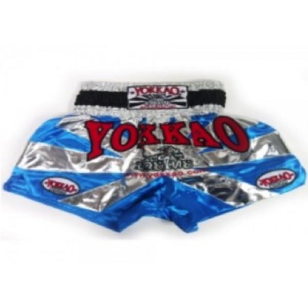 Шорты тайские Yokkao TYBS-031 Blue