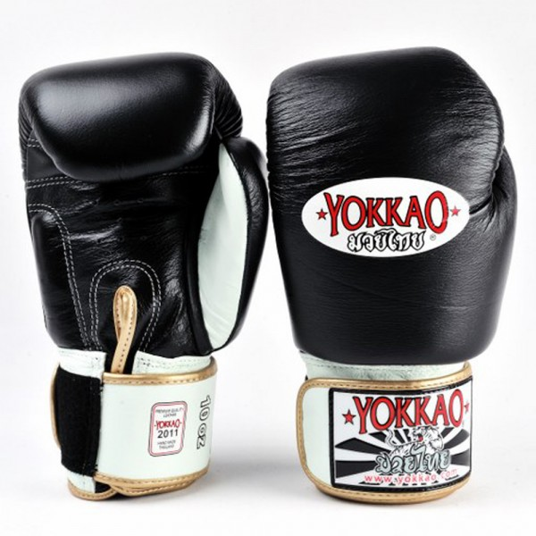 Перчатки боксерские Yokkao BYGL-1 Black