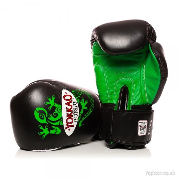 Перчатки боксерские Yokkao YBG-BLG Geckon