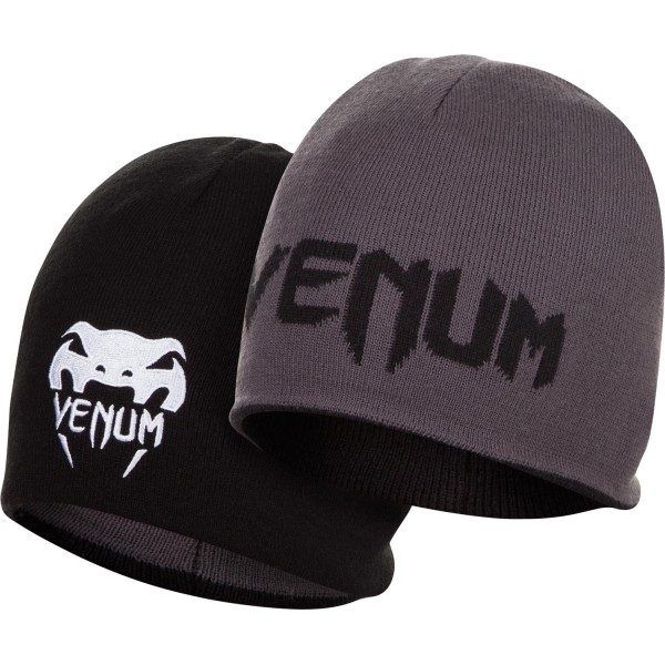 Шапка Venum Reverso - Black/Grey - Grey/Black