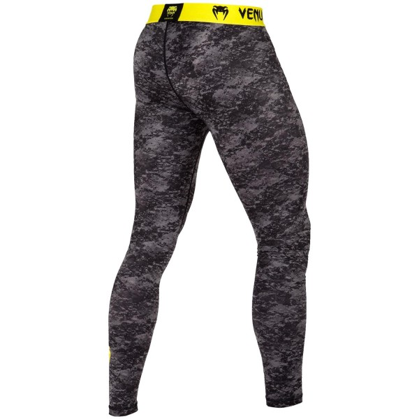 Компрессионные штаны Venum Tramo Black/Yellow