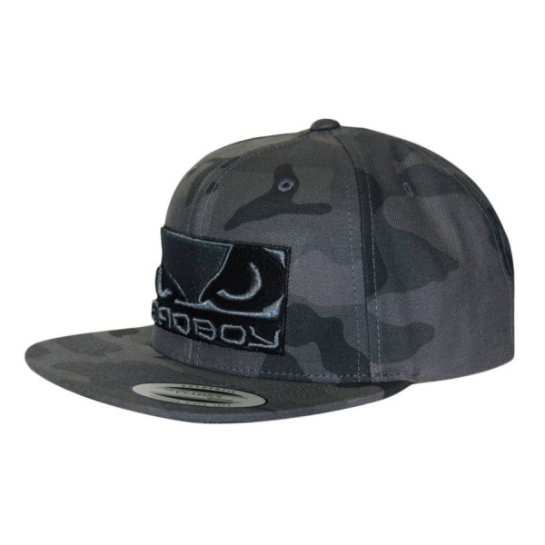 Кепка Bad Boy Camo SnapBack Grey