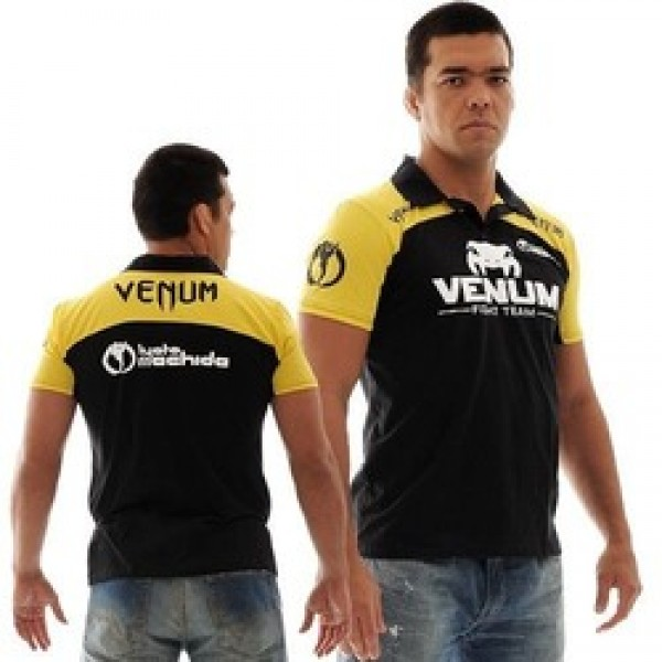 Поло Venum Lyoto Machida UFC Edition - Black/Yellow<br>Вес кг: 280.00000000;