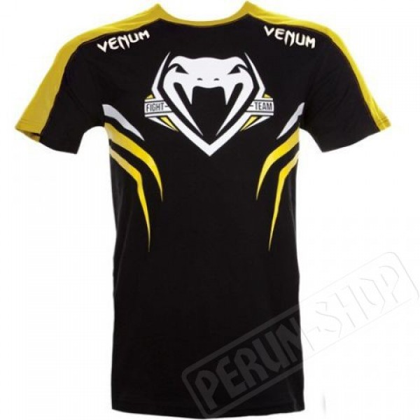Футболка Venum ShockWave Black/Yellow