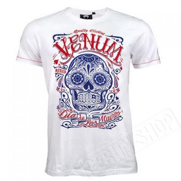 Футболка Venum Santa Muerte T-shirt - White