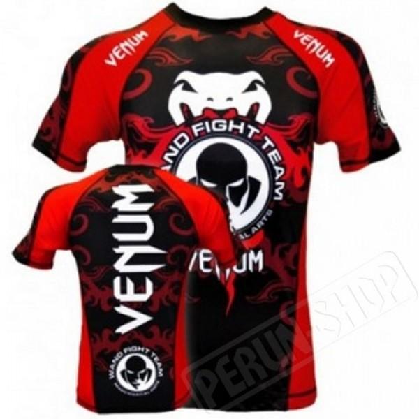Рашгард Venum Wanderlei Silva Signature Wand Inferno Rashguard - Black