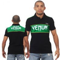 Поло Venum Team - Black/Green