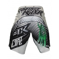 Шорты ММА Contract Killer Stained S2 Shorts - White/Green