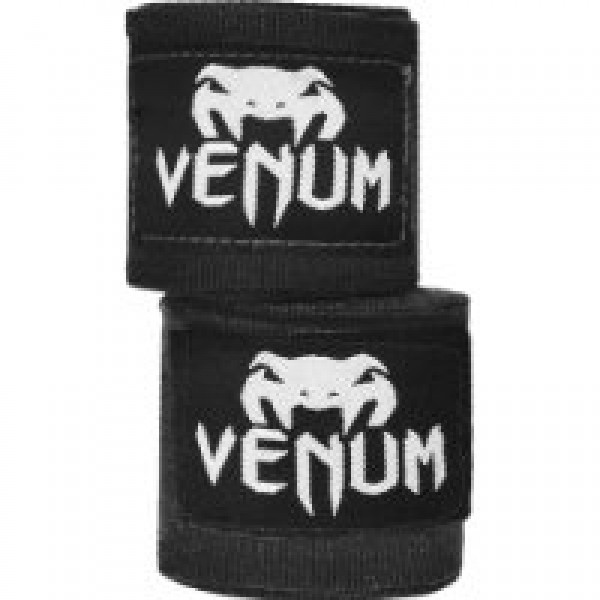 Бинты боксерские Venum Kontact Boxing Handwraps 4m - Black