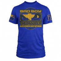 Футболка Bad Boy Alexander Gustafsson Walkout - UFC Fight Night 37 - Royal Blue Heather