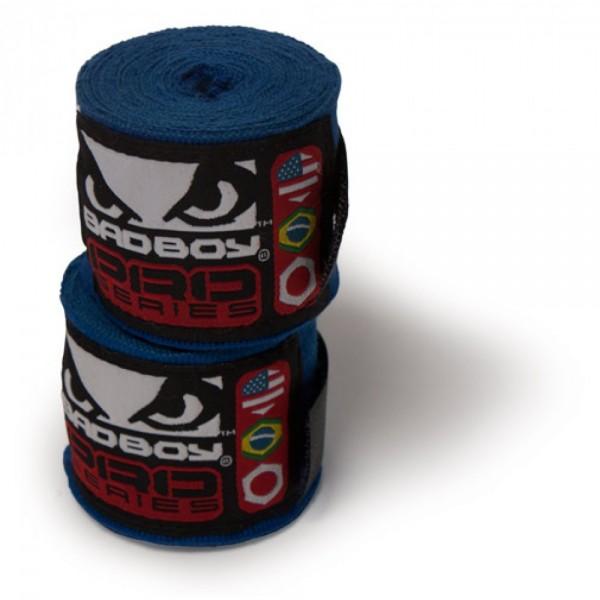 Бинты боксерские Bad Boy Pro Series Wraps Blue
