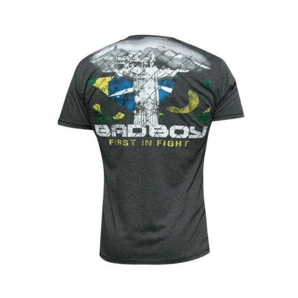 Футболка Bad Boy Rio Tee - Charcoal