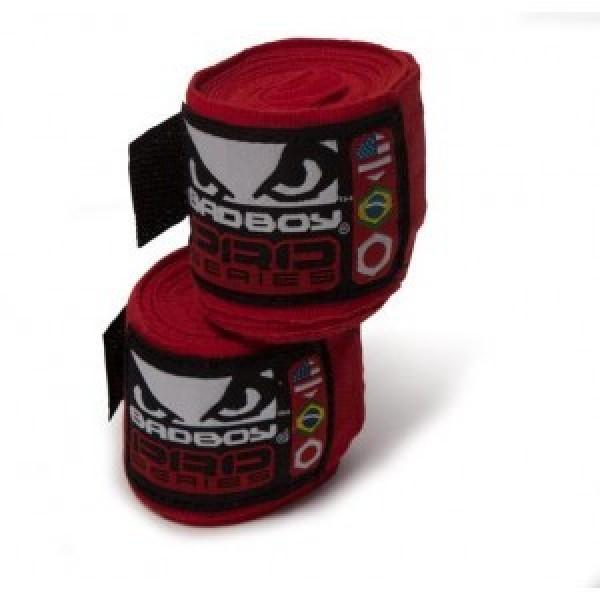 Бинты боксерские Bad Boy Pro Series Wraps Red
