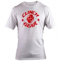 Футболка Clinch Gear Icon Tee- White/Red