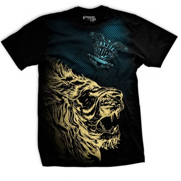 Футболка Ranger Up Live as a Lion Athletic-Fit T-Shirt