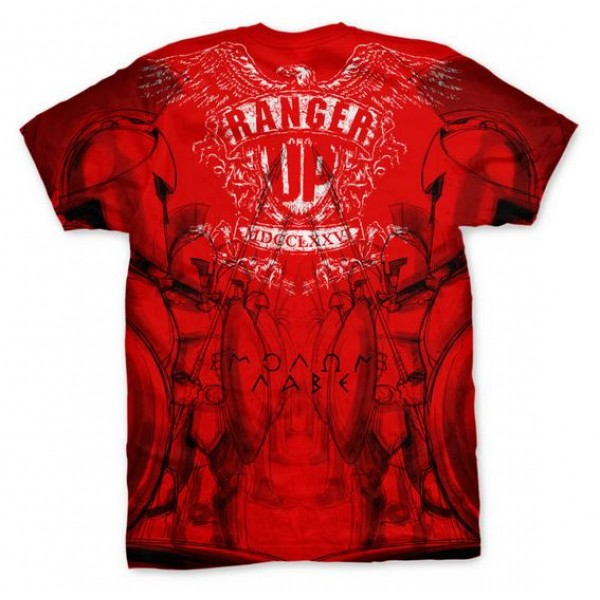 Футболка Ranger Up Red Spartan Phalanx Athletic Fit T-Shirt