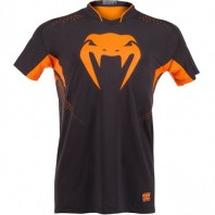 Футболка Venum Hurricane X-fit™ t-shirt - Black-Orange