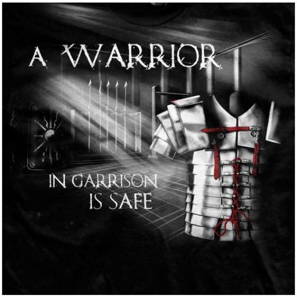 Футболка Ranger Up A Warrior in Garrison is Safe Normal-Fit T-Shirt