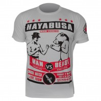 Футболка Hayabusa Gentleman vs Beast T-Shirt - Grey