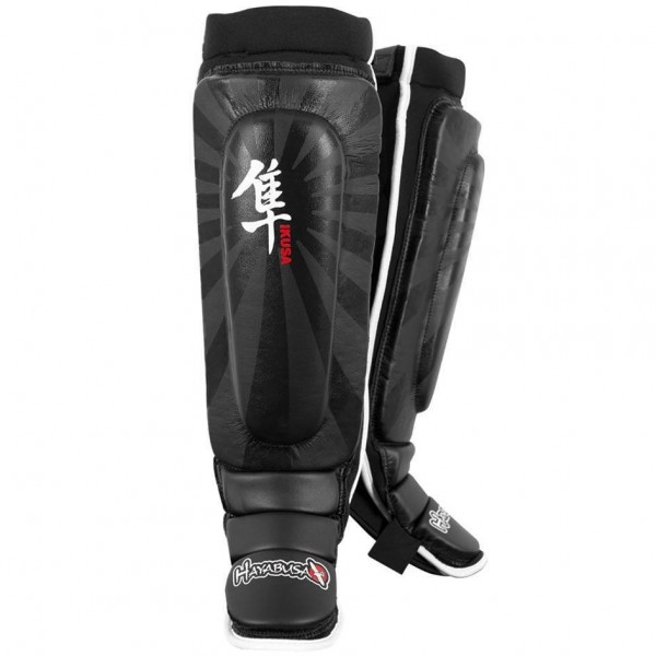 Щитки Hayabusa Ikusa Shin Guards Black