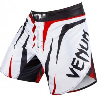 Шорты ММА Venum Sharp White/Black/Red