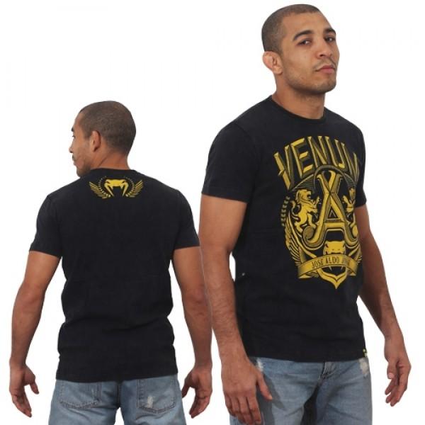 Футболка Venum Jose Aldo Vitoria Black/Yellow