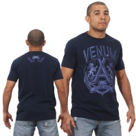 Футболка Venum Jose Aldo Lion T-Shirt - Blue