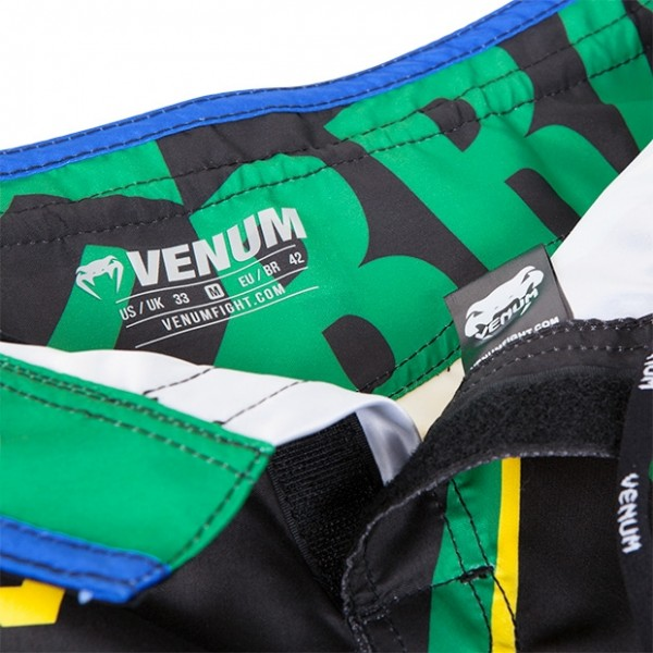 Шорты ММА Venum Wand's Conflict Yellow/Blue/Green