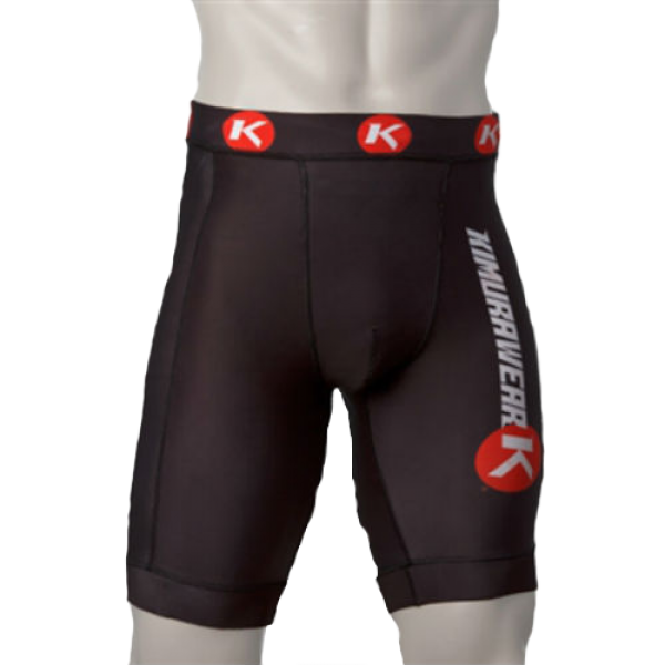 Компрессионные шорты Kimurawear Vale Tudo/Compression Shorts - Black