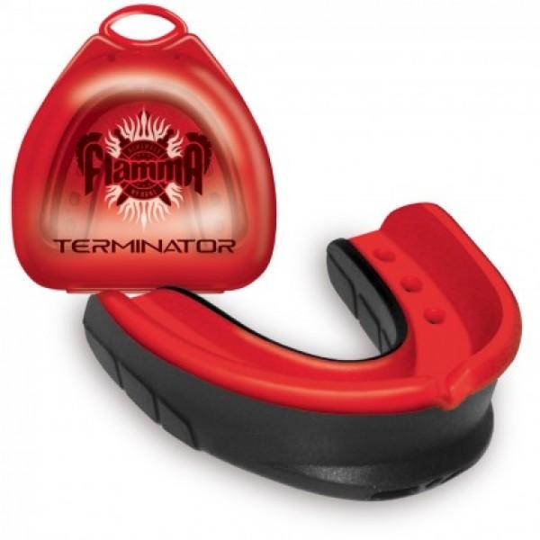 Капа боксерская Flamma Terminator с футляром