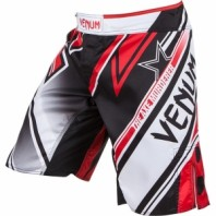 Шорты ММА Venum Wand's Conflict Black/White/Red