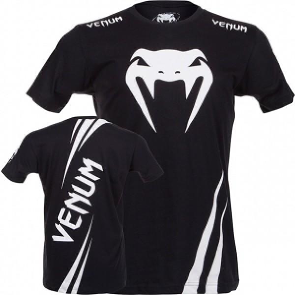 Футболка Venum Challenger Black/White
