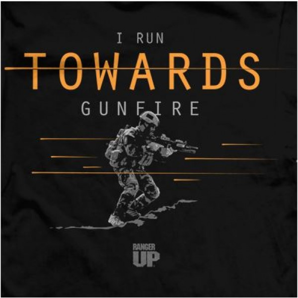 Футболка Ranger Up I Run Towards Gunfire