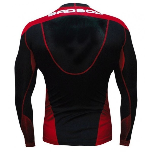 Рашгард Bad Boy Sphere Compression Top Black/Red L/S