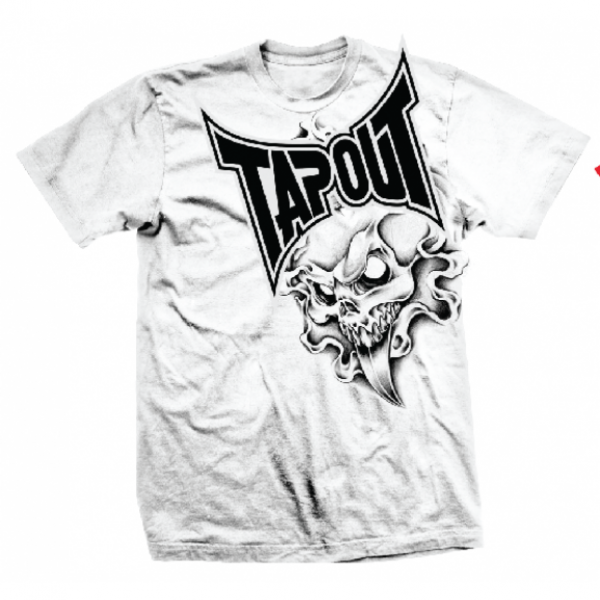 Футболка Tapout Spike Mens T-Shirt White<br>Вес кг: 280.00000000;